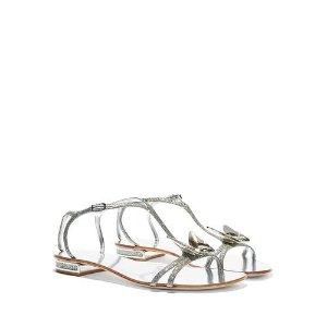 Casadei蝴蝶平地凉鞋