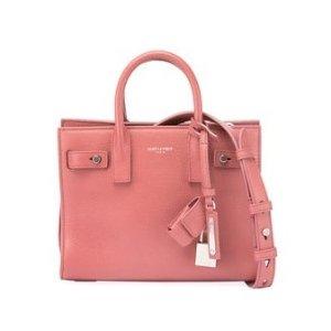 $1125Saint Laurent Sac de Jour Leather Nano Carryall Bag