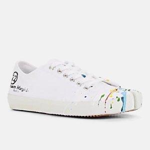 Tabi 涂鸦帆布鞋