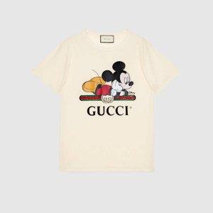 Gucci人气款联名T恤