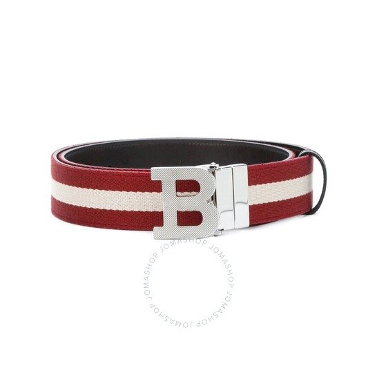 Men's Red Iconic 皮带