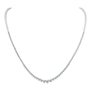Dealmoon Exclusive:Szul.com 5 Carat TW Diamond Tennis Necklace on Sale