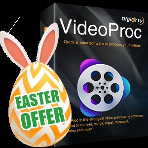 复活节限时免费领取最后一天:VideoProc视频处理软件全功能版本 价值$78.9