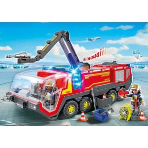 PLAYMOBIL®25% Off $50Airport Fire Engine with Lights and Sound