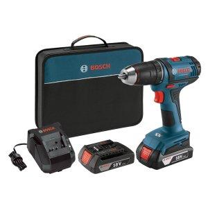 $74.99 包邮Bosch 18V 电螺丝刀 双锂电池套装 + 充电器 + 收纳包
