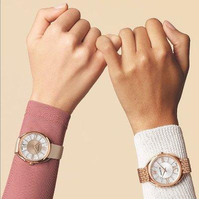 低至5折 £155收封面款Swarovski 官网时尚女表精选