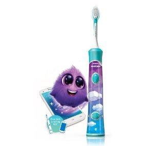 $29.95 (原价$49.99)Philips Sonicare 新款飞利浦儿童声波电动牙刷 蓝牙APP互动款