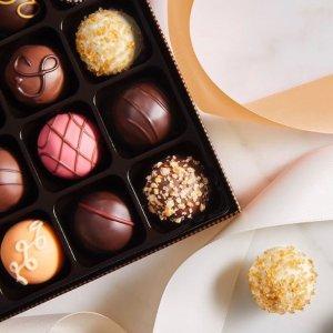 低至3.3折+ 精选3个礼盒£10Godiva比利时巧克力大促  甜蜜你我他