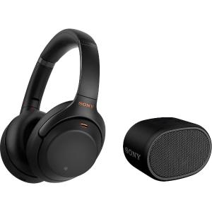 索尼WH-1000XM3蓝牙降噪耳机+蓝牙音箱限时特价,再送15欧优惠码