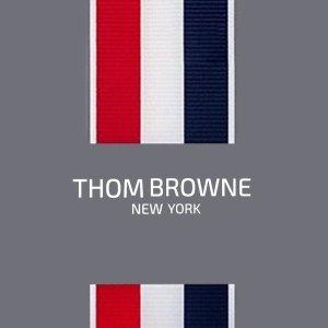 4折 条纹衬衫$332 无税即将截止:Thom Browne 大促 尖头高跟鞋$404 (原价$1010)
