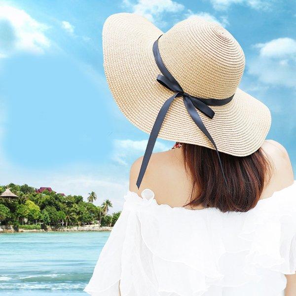 编织遮阳帽