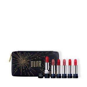 Dior阶梯式闪促,低至8折!口红包套装