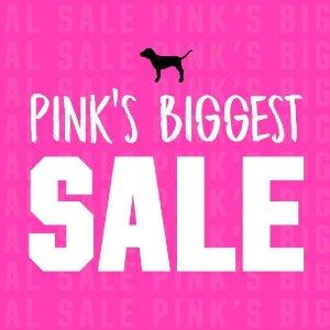 低至4折+额外6折 内衣$5起Victoria's Secret PINK 精选内衣服饰热卖