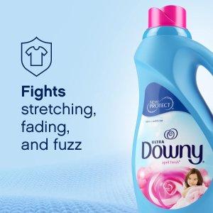 $4.74(原价$6.99)Downy 衣物柔顺剂 1.53升 衣物柔软亲肤香甜的秘密