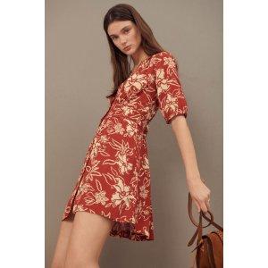 BA&SHSOMA. Short Floral Dress