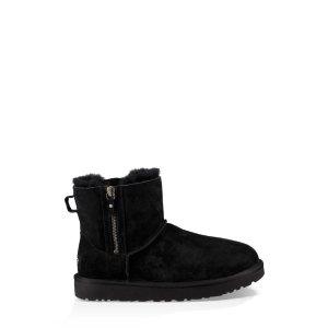 UGG Australia额外8.5折雪地靴 黑色