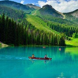 ¥13399/人起  游览加境3大国家公园加拿大东西海岸+尼亚加拉瀑布12日11晚半自助游