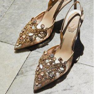 低至2.5折 蝴蝶鞋$175Bergdorf Goodman 大牌美鞋折扣区促销