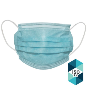 $25Disposable Face Mask 3 Ply, Pack of 150