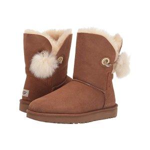 UGG毛球雪地靴