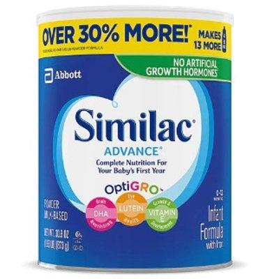 Ralphs Ship has Similac Advance Infant Formula with Iron 30.8 oz