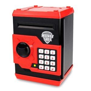 $13.2SAOJAY 保险箱造型儿童电子存钱罐,4色可选,可设密码