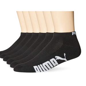 $13.26起(原价$46.8)Puma  男士黑色logo 袜子 6只装