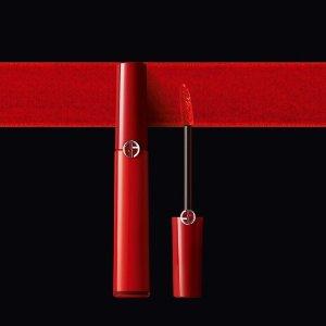 获赠D'Armani哑光口红#502Armani 购红管送正装口红 405有货