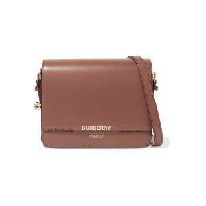 Burberry新款logo单肩包