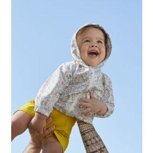 Petit Bateau婴儿防风夹克
