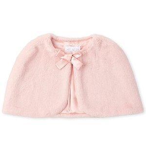 $14.98 (原价$29.95) 包邮Children's Place 女童仿毛披肩,做个有温度的公主