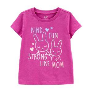 Carter's小童兔子T恤