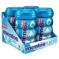 Mentos 无糖木糖醇口香糖 清新薄荷口味 50粒装 共4瓶
