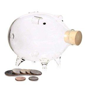 Erreloda Hand-Made Glass Piggy Bank