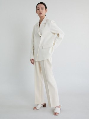 Two Button Jacket_Ivory  | W Concept