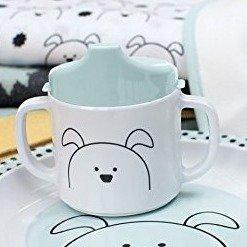 $5.67(原价$9.94)德国Lassig 宝宝学饮杯  小狗图案