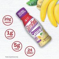 SlimFast 香蕉奶油口味代餐奶昔11oz 4瓶