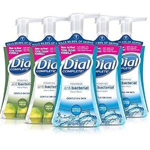$11.87 包邮Dial 温和除菌泡沫洗手液 221ml 5瓶