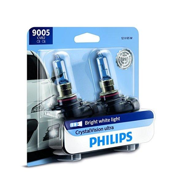 9005 CrystalVision Ultra 升级灯泡 2只装