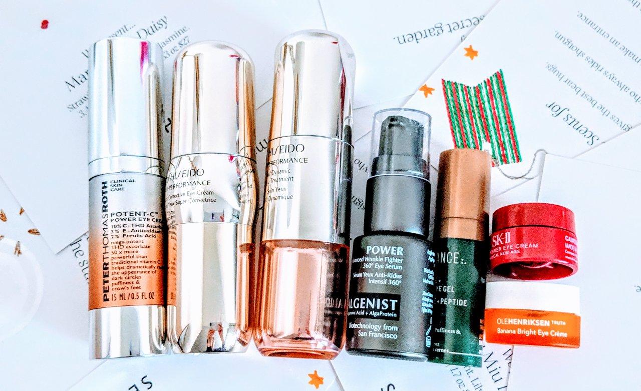 眼部保养大作战|这7款$38-$135价位眼霜,到底哪一瓶好? (Shiseido/SK-II/PTR/Algenist)
