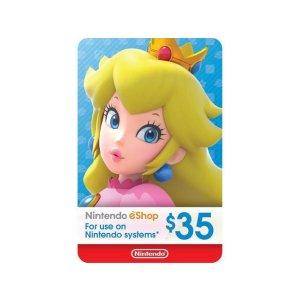 NintendoeShop $35 Gift Card