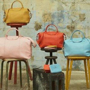 低至7折 $66.5起Longchamp 尼龙背包,托特包 收实用饺子包