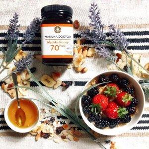 低至3折起 70MGO蜂蜜£21Manuka Doctor 蜂蜜好价回归 养胃+润燥 一举两得好疗效