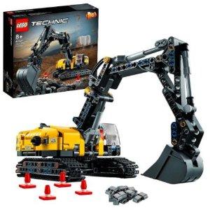 $47.2(国内价¥399)Lego乐高 2021新款挖掘机套装 在家体验挖掘快乐