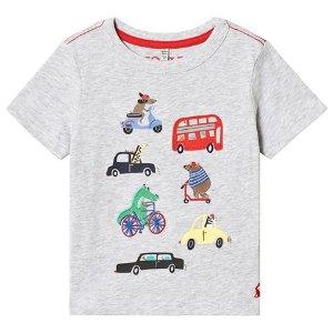 JoulesGrey Transport Applique T-Shirt | AlexandAlexa