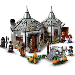 $59.86(原价$79.99)史低价:Lego 哈利波特系列 海格小屋 75947 真实还原营救巴克比克
