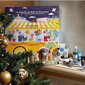 低至5折+送7件礼包L'Occitane 欧舒丹圣诞套装上新 护手霜5件套$11/支(价值$72)