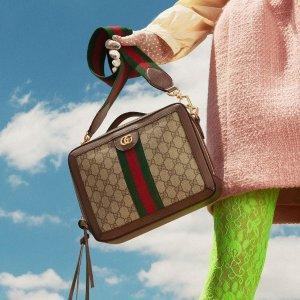 无门槛85折!卡包£148、mini Marmont £977Gucci近期好价!美包美鞋配饰 上新热卖