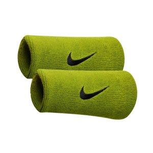 Nike Swoosh Doublewide 腕带 - Atomic Green/Black