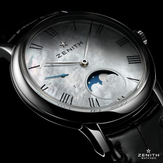 Dealmoon Exclusive: Zenith Moonphase Automatic Mother of Pearl Ladies Watch